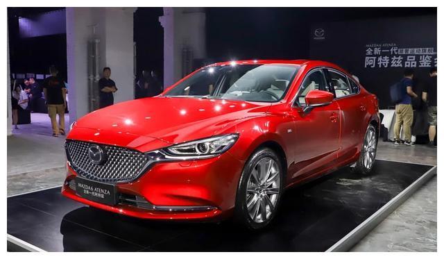 皇冠丧失存在感,6月日系轿车销量排行,阿特兹有起色/它卖了3台