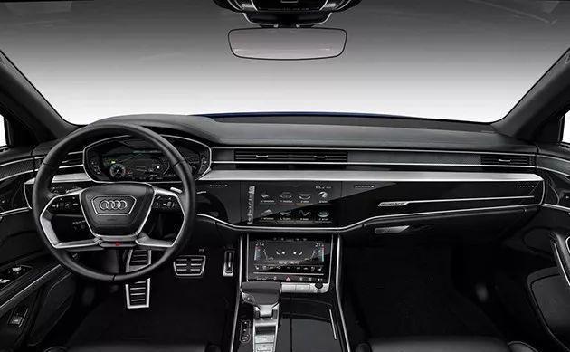 奥迪新款S8官图发布,换上运动装依旧是大哥
