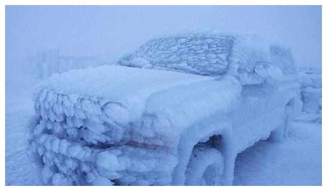 """这些车放置一晚就不用再开了,汽车也去""""冬眠""""了!"""
