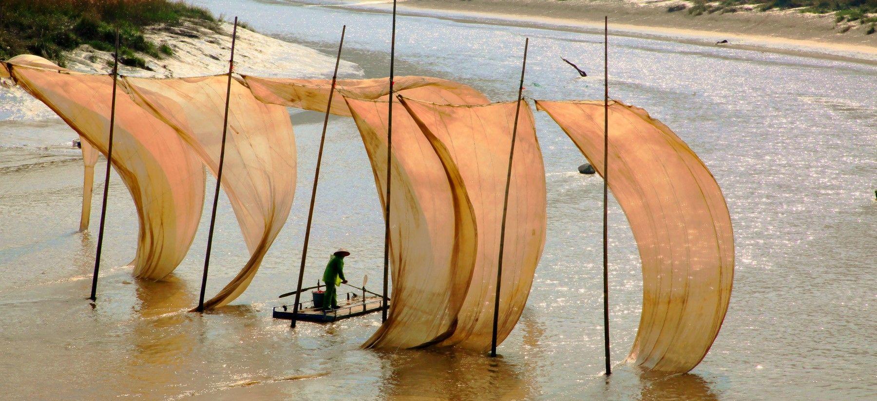 风光摄影:霞浦之瓦窑挂网