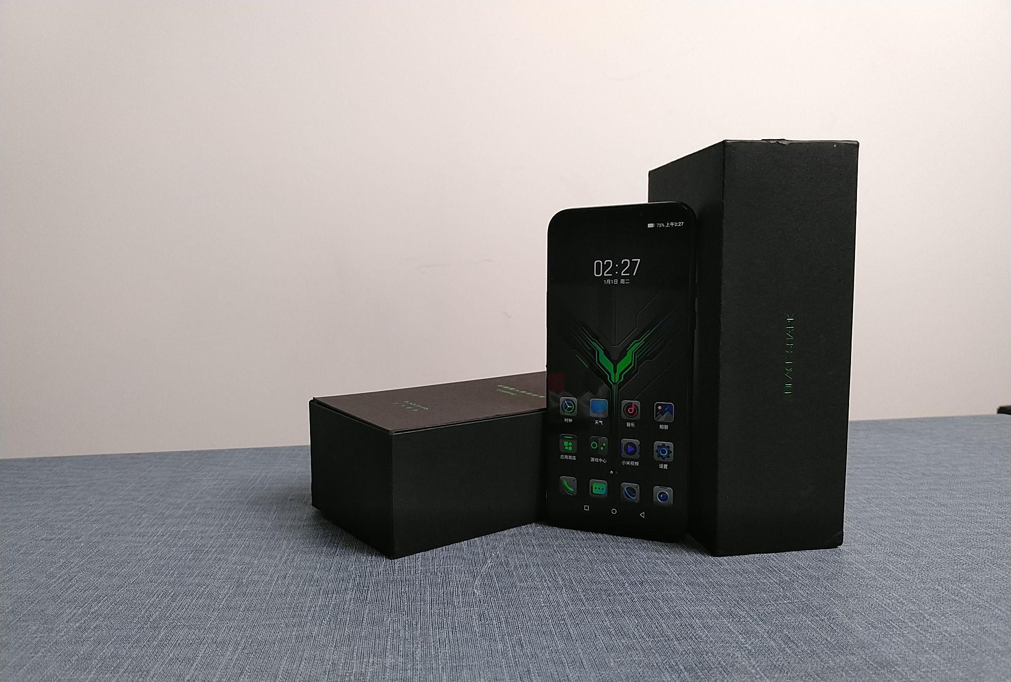 黑鲨游戏手机2,爱是一道光,绿到你发慌!