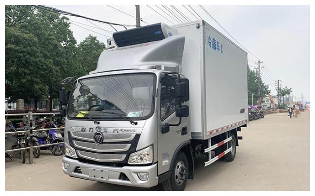 福田欧马可4.2米冷藏车价格