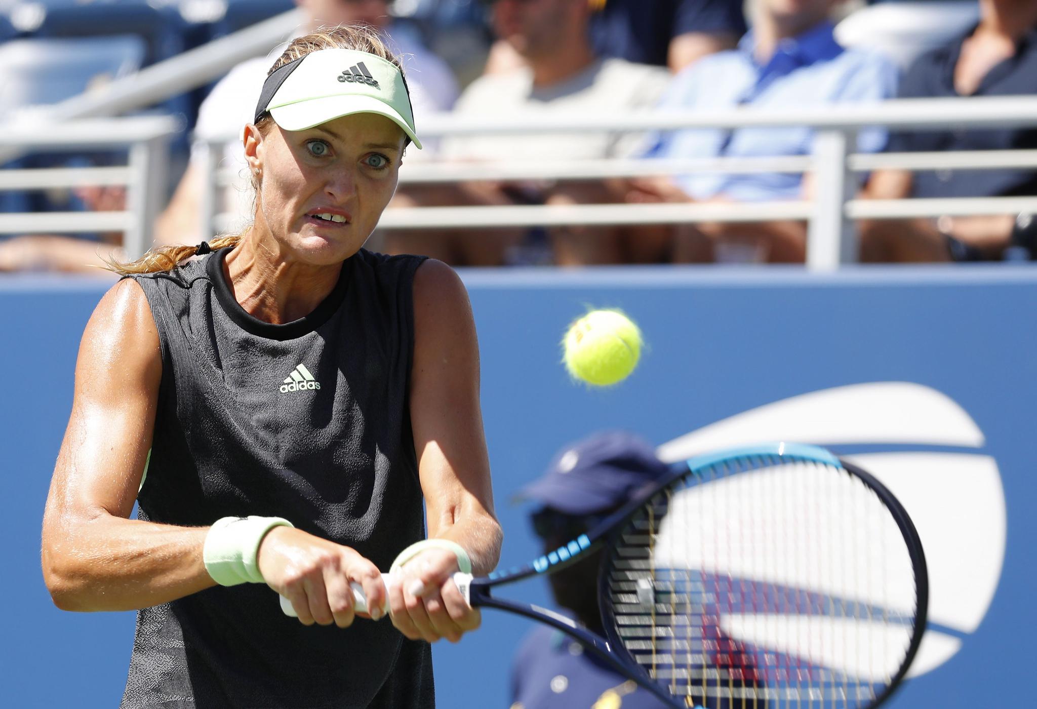 网球——美网:科贝尔出局