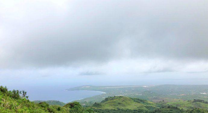 """它是塞班岛上的最高峰,而且这里还可以说是""""世界第一高峰"""""""