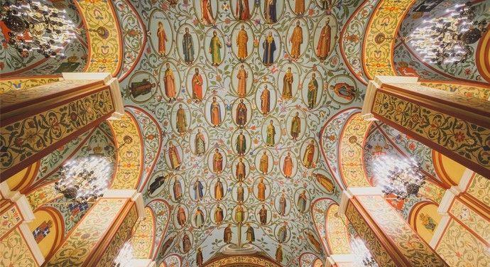 这是莫斯科最具有国家代表性的博物馆,里面陈列着上百种藏品