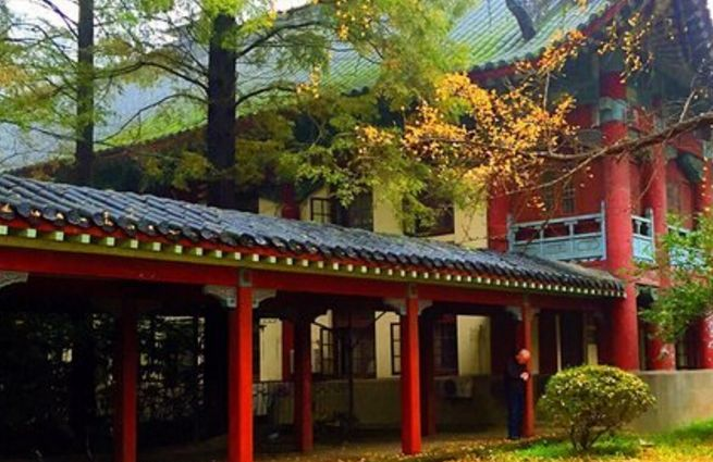 """旅游:""""东方最美校园""""——南京师范大学随园校区"""