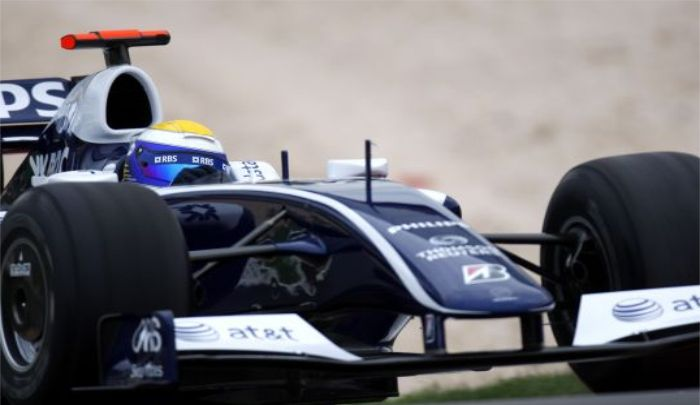 威廉姆斯车队:6张赛车图,你喜欢玩赛车吗,完美