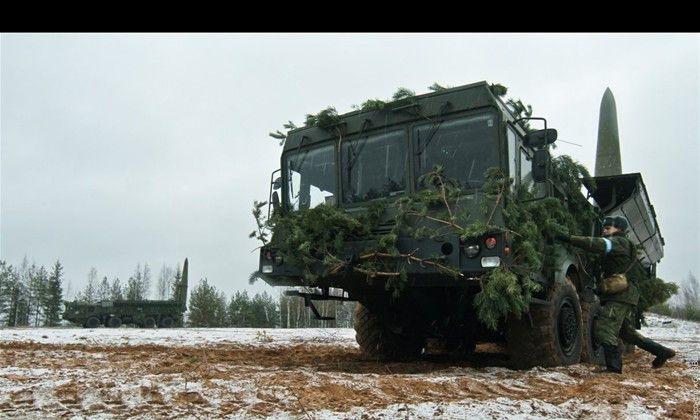 俄罗斯军队里最新、最锋利的利剑:伊斯坎德尔战役战术导弹图集