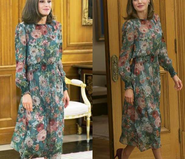 西班牙王后太爱穿Zara,最便宜一件才60元,平民王后果然很节俭