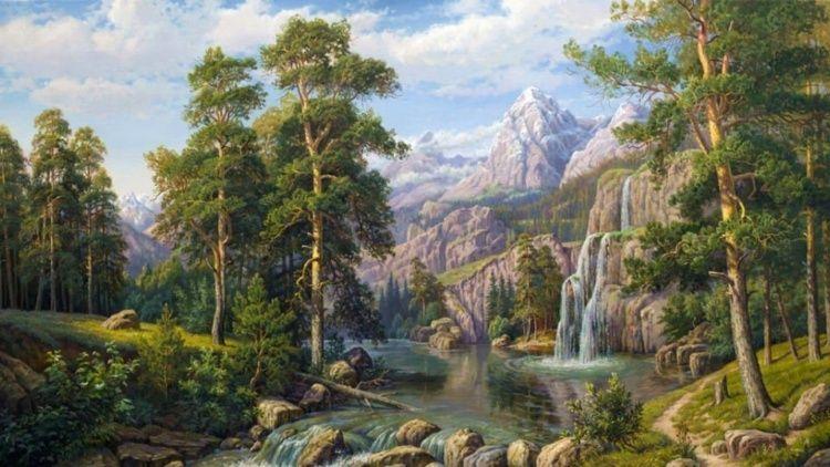 我要坚持俄罗斯的绘画传统:美女艺术家维塔利·波塔波娃油画作品