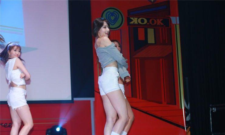 EXID演唱会动感十足 甜到令你高血糖
