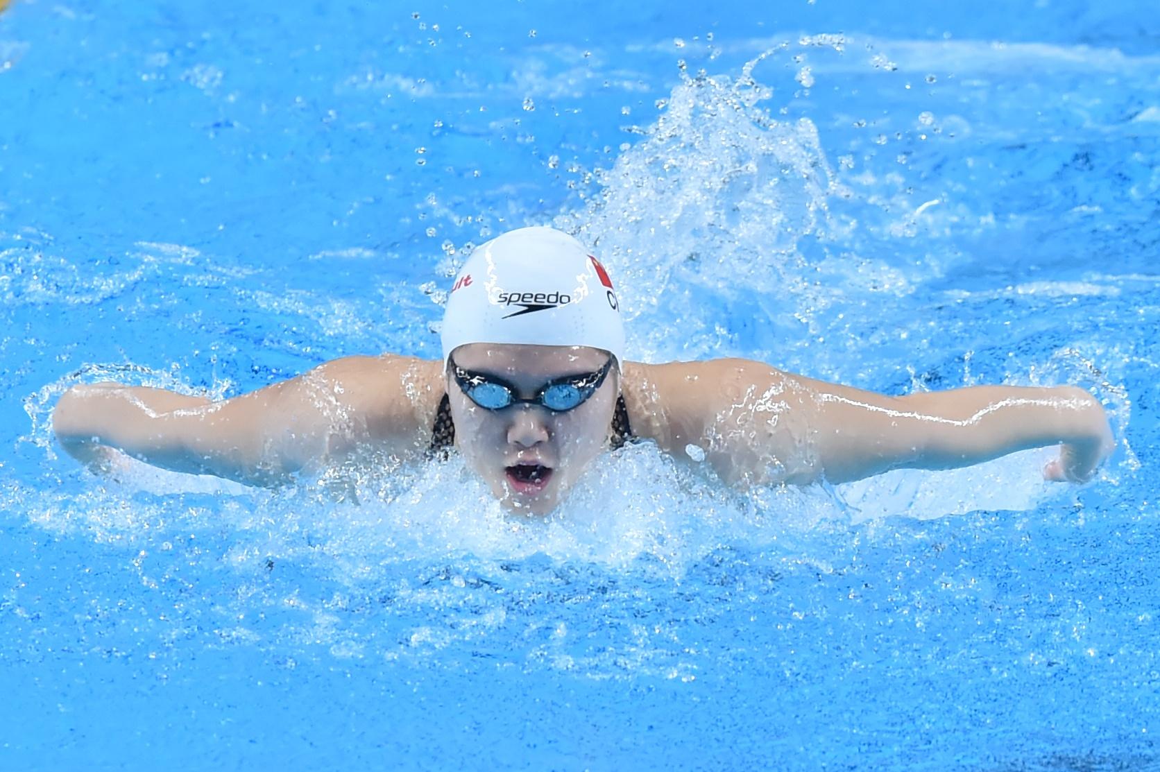 游泳——FINA冠军系列赛:叶诗文获女子200米个人混合泳第四