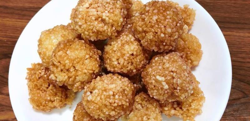 糯米这样做太好吃了,金黄香甜,家里零食不用买了,嘎嘣脆