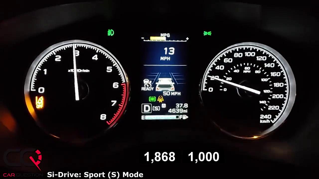视频:2019款斯巴鲁森林人动力怎么样?一脚油门跑个0-100加速就有数了