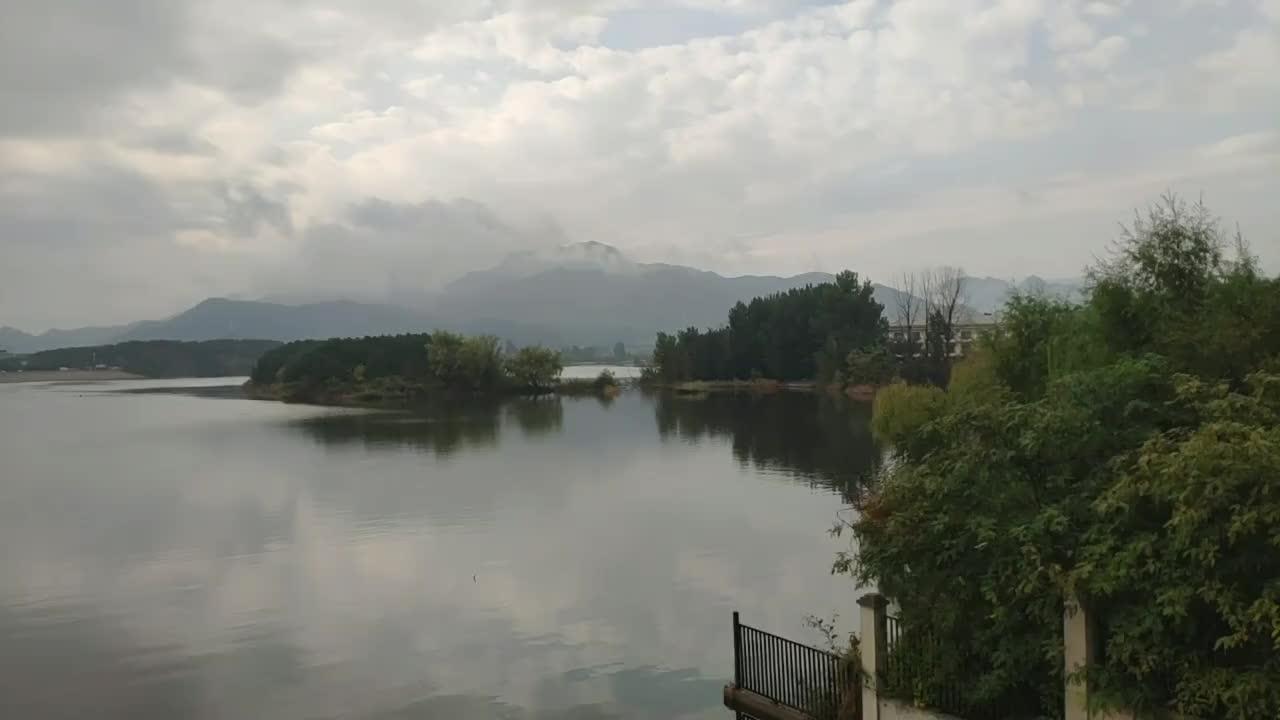 北京雁栖湖的风景