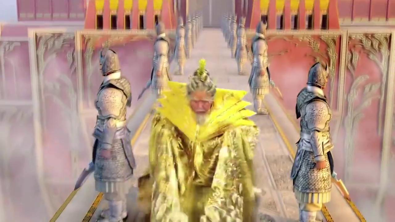 孙悟空毁东海龙宫,东海龙王上天向玉帝告状,却被二郎神拦住了!