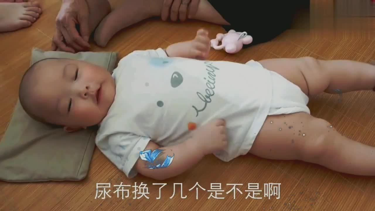 家有小猪宝宝,半天换五个尿布,吃半碗米糊,好养!