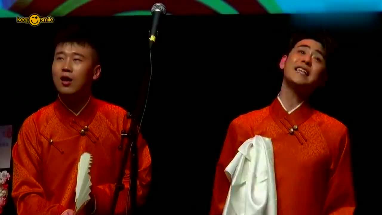 杨九郎一开嗓,张云雷瞬间笑场了,这唱功真是郭德纲的徒弟吗?