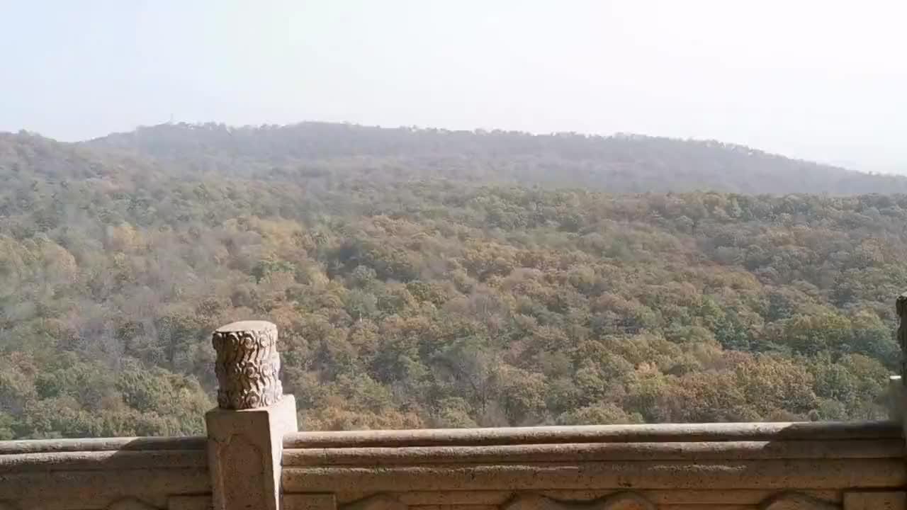 南京钟山风景名胜区的灵谷寺,里有个灵谷塔非常有特色,一根柱子