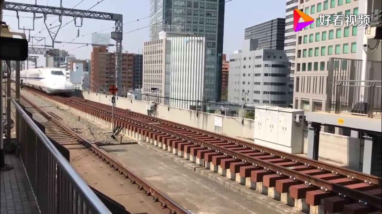新干线新大阪站 N700A系进站 东京方向