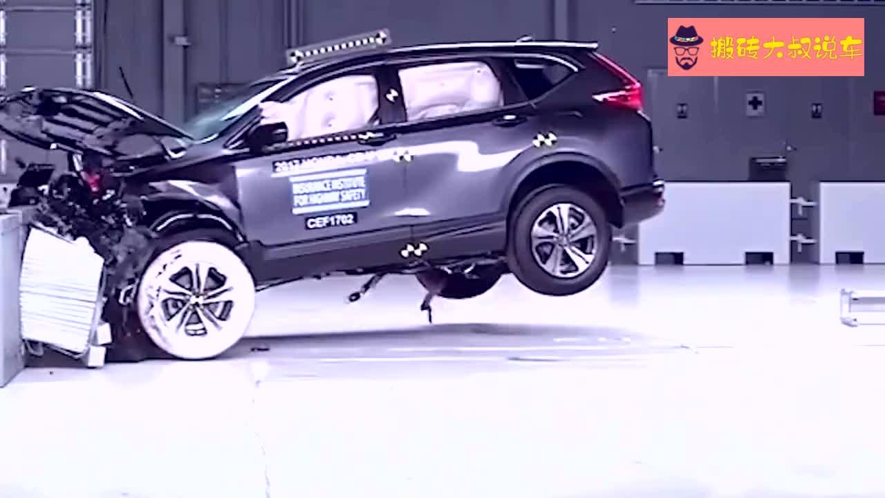 视频:别克昂科威、本田CRV、起亚索兰托碰撞安全测试,谁优谁劣