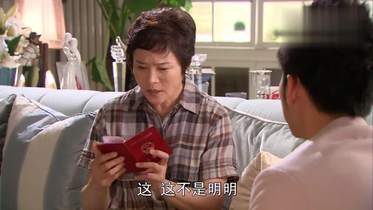 明宇忽悠母亲说离婚证是假的母亲半信半疑