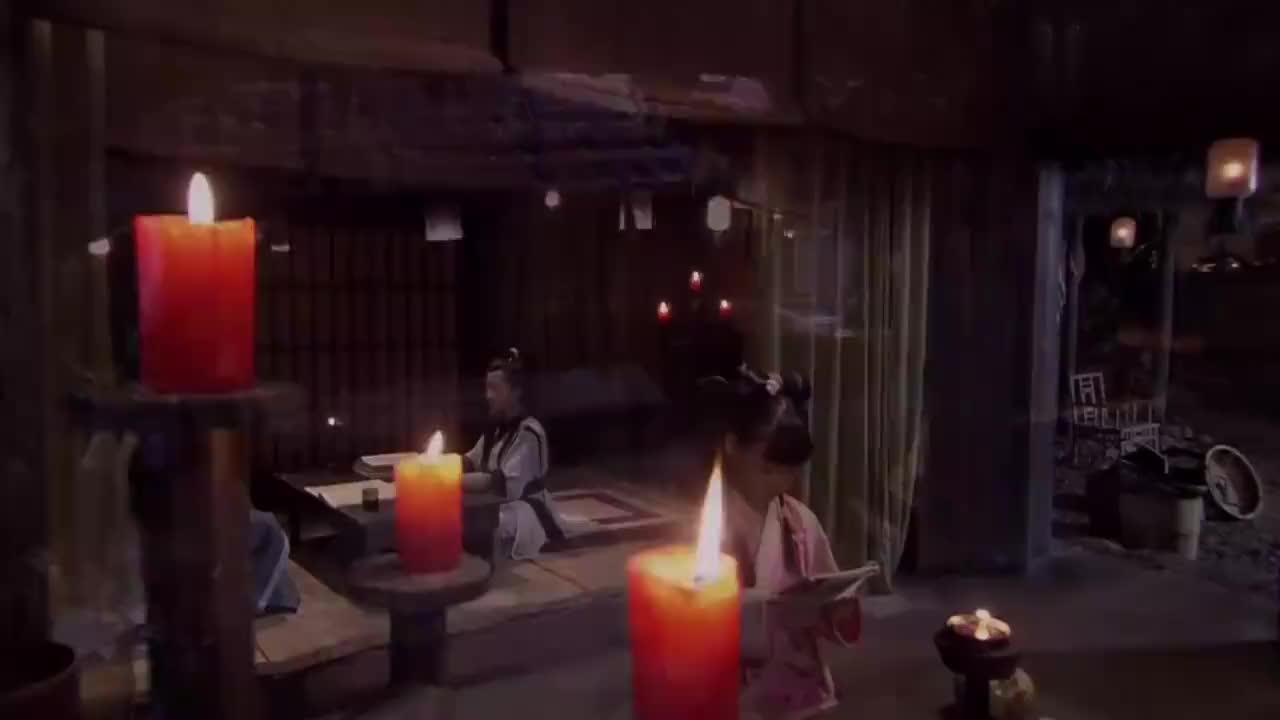 薛平贵与王宝钏小薛平贵勤奋好学父亲看到这一幕后一脸欣慰
