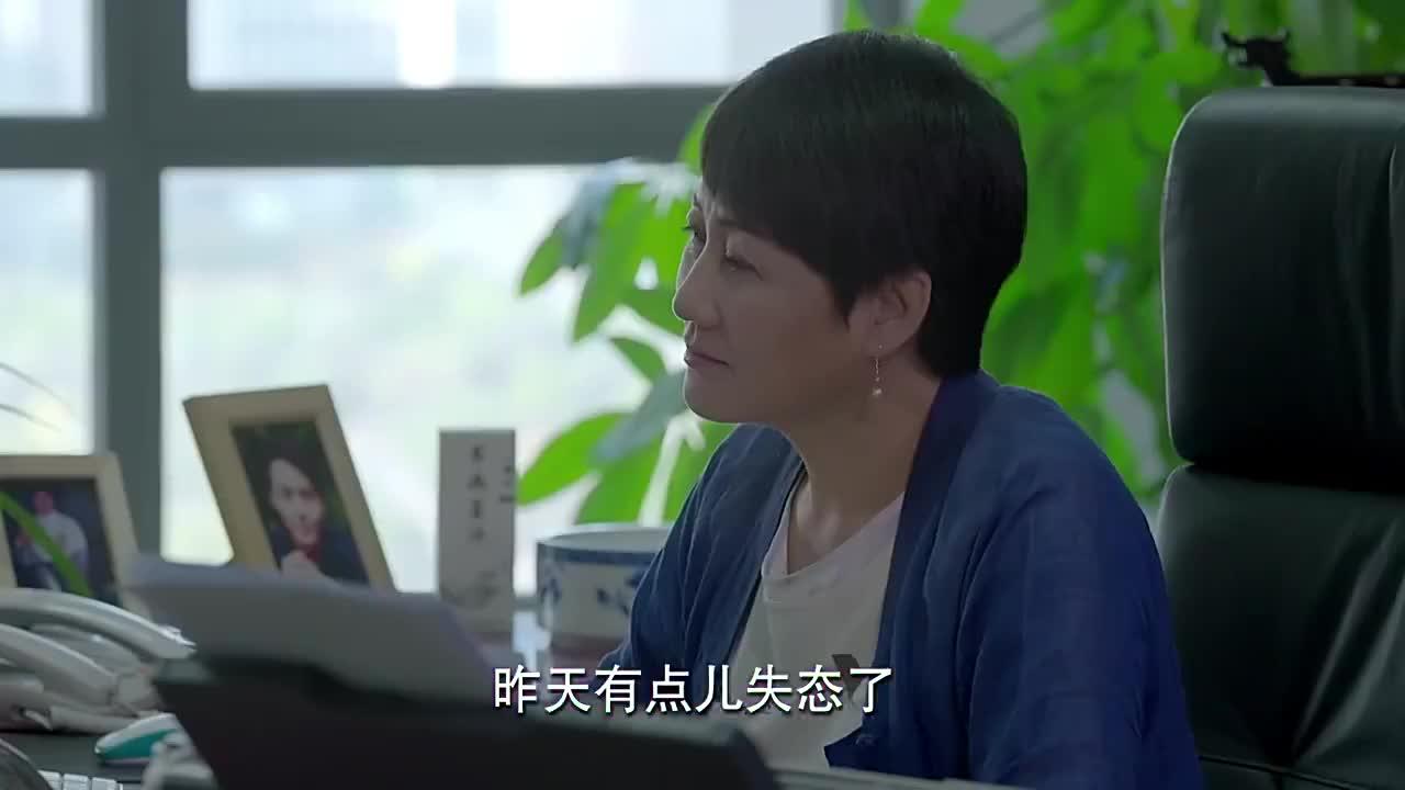 功夫婆媳黄书郎在梅超英办公室见到蒋歌假意让梅超英调查