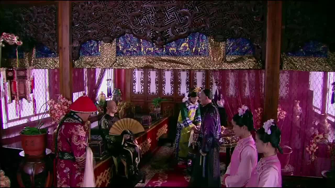 八阿哥写了整顿吏治的方案康熙很高兴要带他一起去祭祖