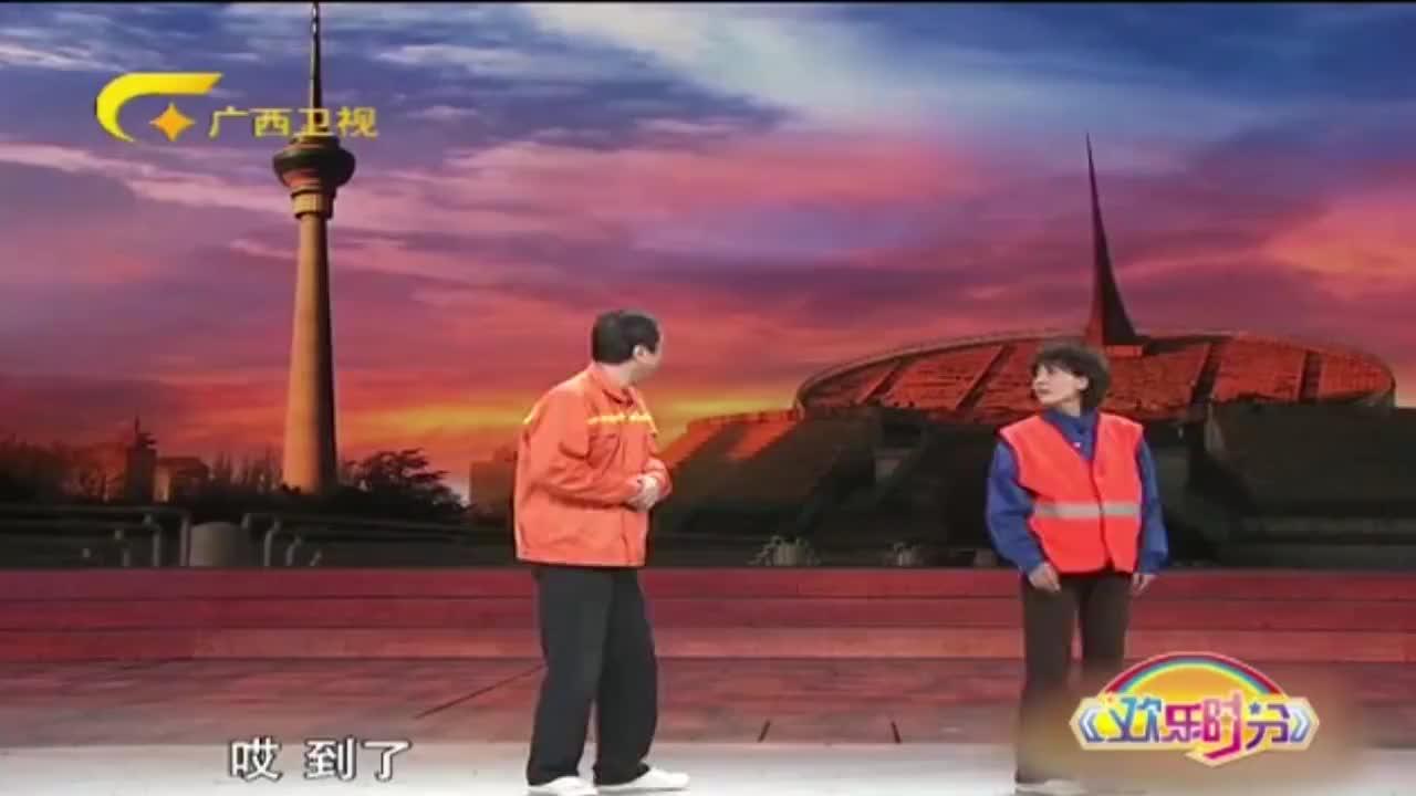 经典小品刘金山冯巩路边接头白看不厌关键太逗了