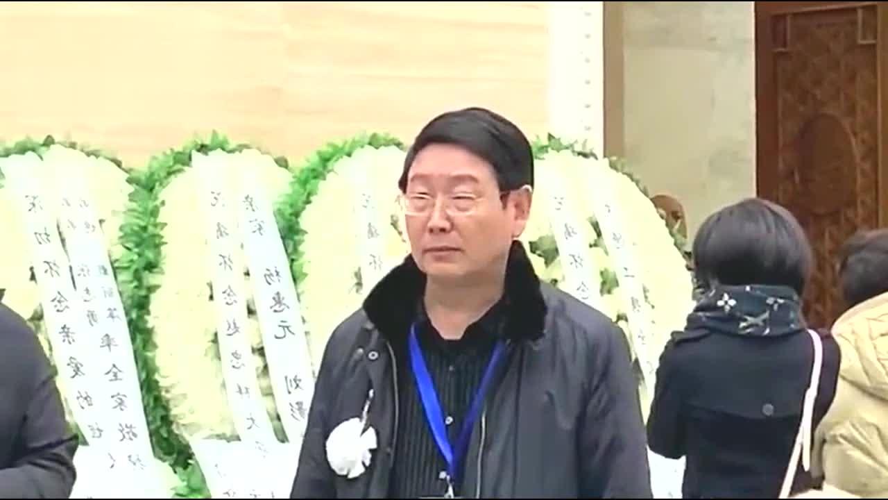 赵忠祥遗体告别仪式在八宝山举行生前多位好友前来悼念