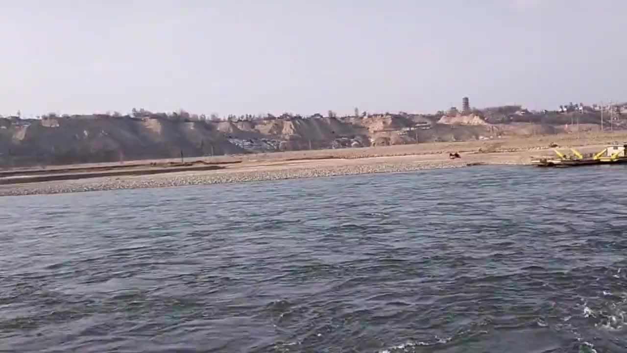 蓝色的黄河你见过吗惊讶在甘肃有这么美的地方魅力靖远平堡