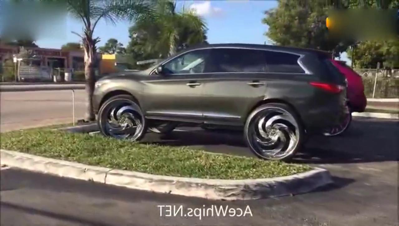 视频:大怪物啊!以高为美 英菲尼迪JX35改装32寸大轮圈
