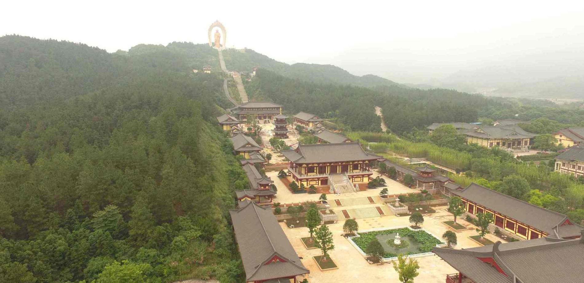 庐山东林寺!跨越千年的古寺,日本佛教将其视为祖庭!