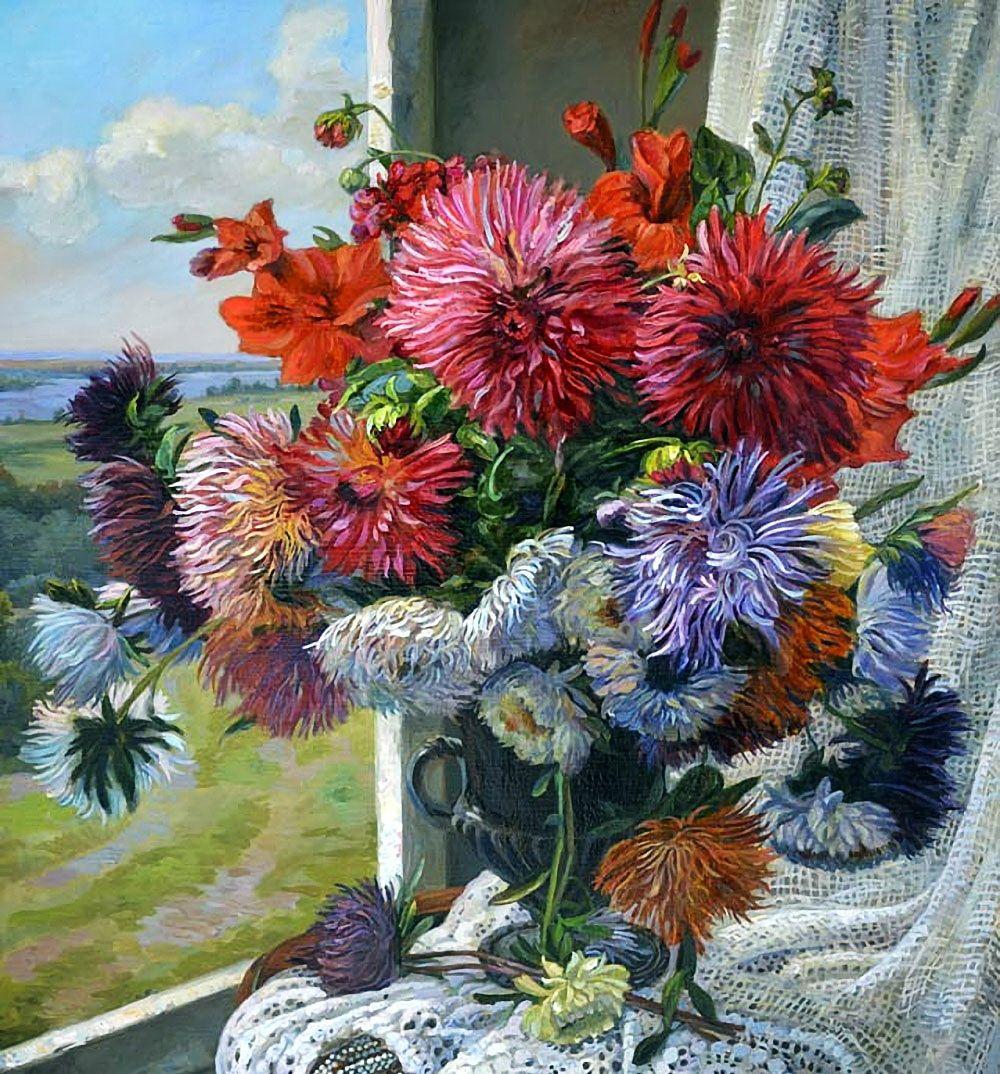 一股浓烈的俄罗斯画风扑面而来:艺术家爱德华潘诺夫的精美作品选
