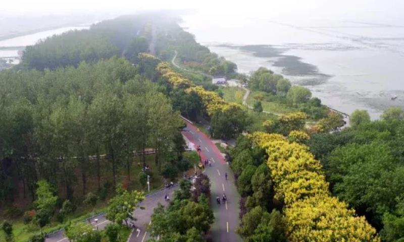 有一种美叫洪泽古堰的秋,深秋时节这样游才自在,还有湖鲜美食吃