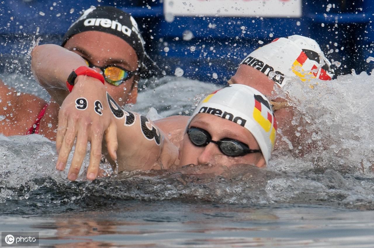 韩国游泳世锦赛公开水域10公里男子自由泳比赛