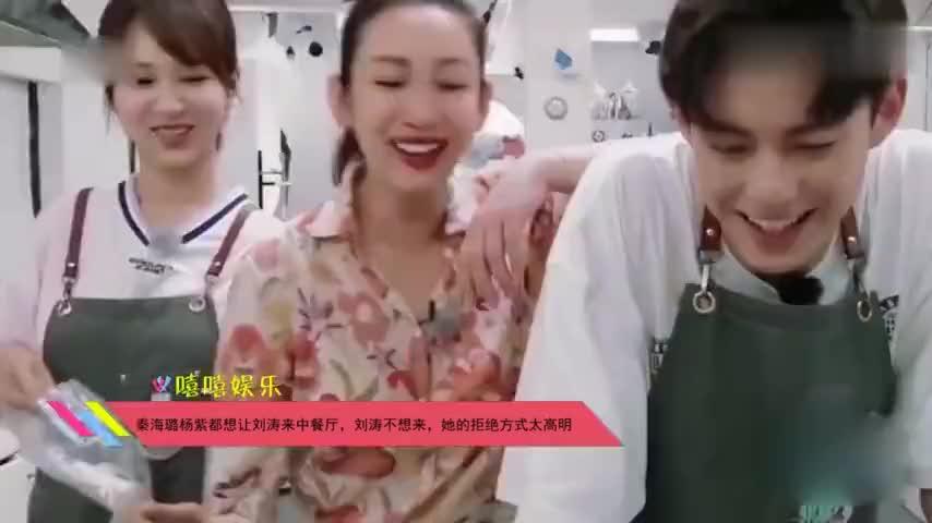 秦海璐杨紫都想让刘涛来中餐厅刘涛不想来她的拒绝方式太高明