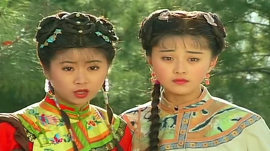还珠格格事实证明琼瑶找她做配角简直是个错误分明是在抢风头