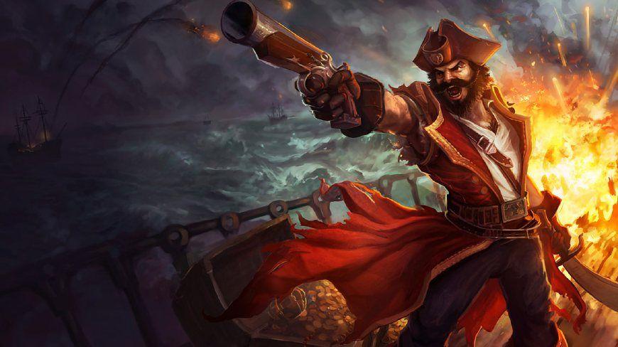 LOL:我非要把你吊死在桅杆上不可!小爷我可是海盗!崩爹的那种