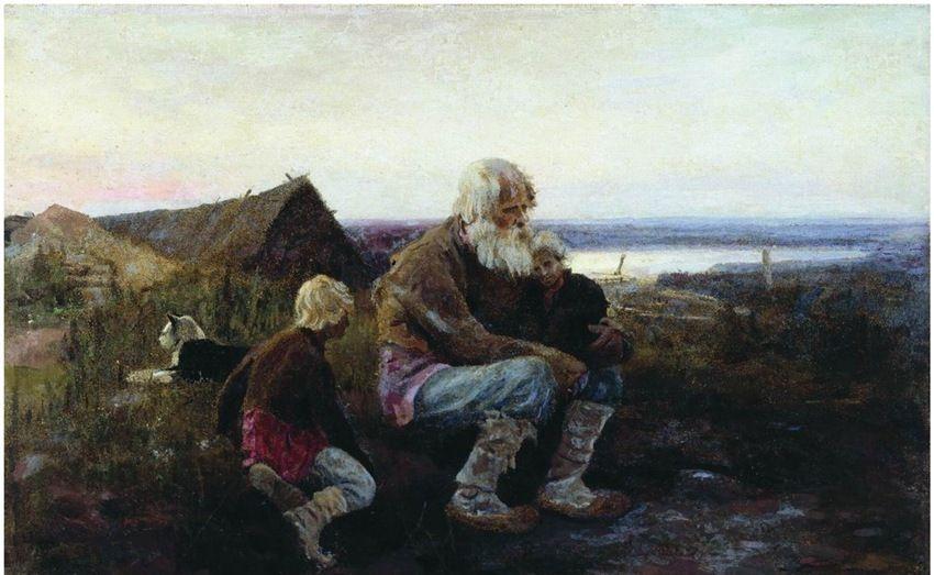 大师列维坦的好朋友,艺术家斯捷潘诺夫·阿列克谢(1858-1923)