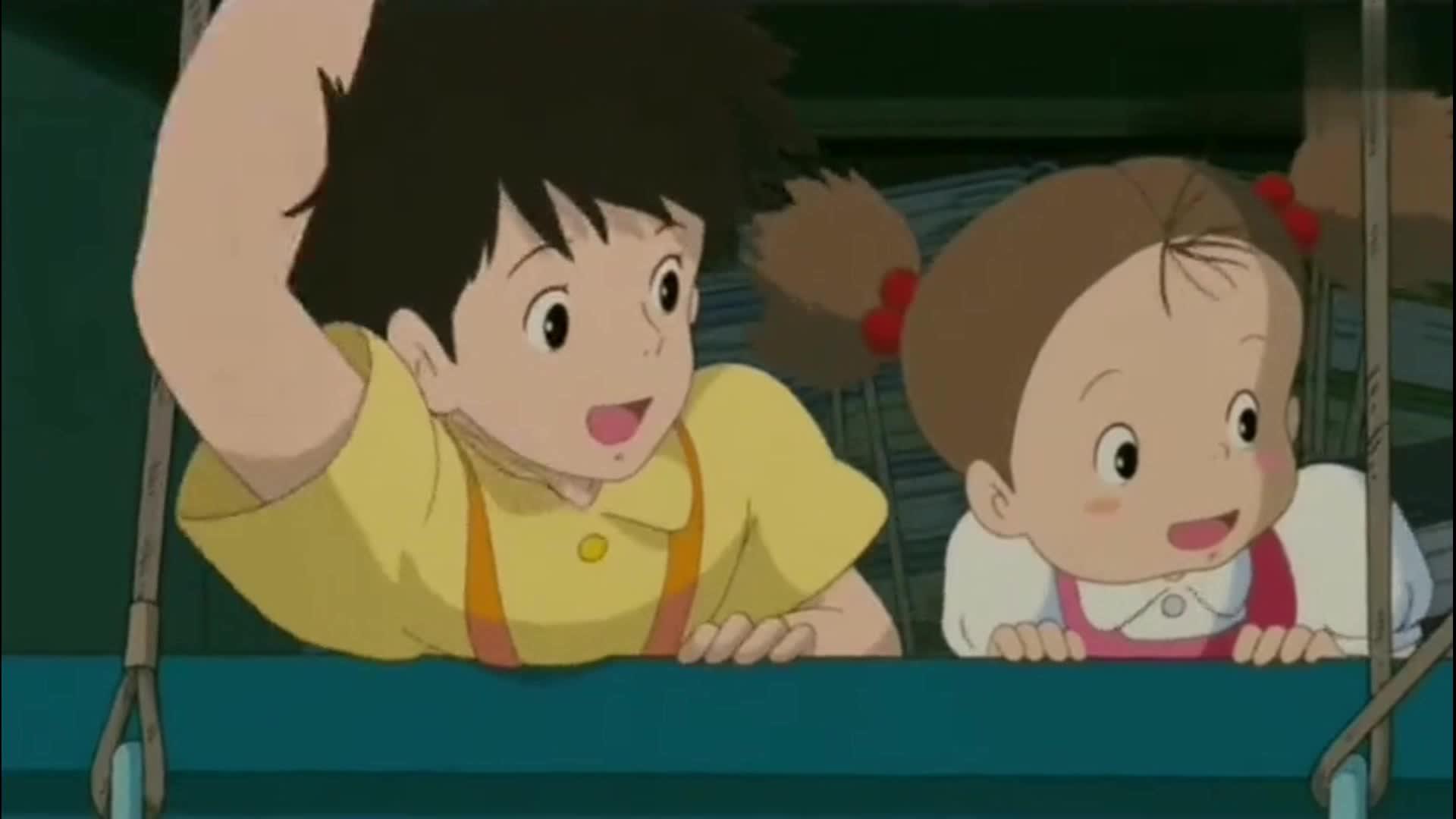 宫崎骏动画当心情不好时 看看这个 让大自然来治愈你