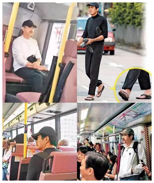 周润发没有隆重排场,搭地铁低调出行,香港天后也加入这个行列