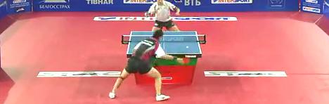 2011欧亚对抗赛斯米尔诺夫高宁乒乓球比赛视频