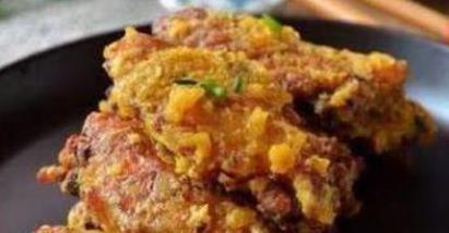 美食推荐:茄子烧豆角,豉汁蒸排骨,金沙鸡翅,干烧冬笋的做法