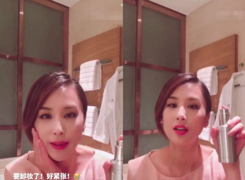 """黄圣依公布卸妆视频,素颜似少女,网友:一秒美回""""哑女"""""""