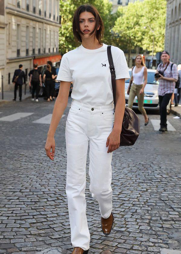 超模乔治娅·福勒现身街头,随便一个pose都是大片,网友:太养眼