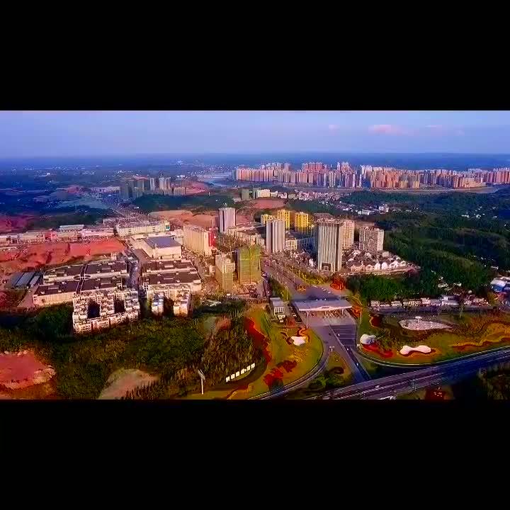 成渝高速简阳北站,航拍版惊艳登场邹四哥拍摄