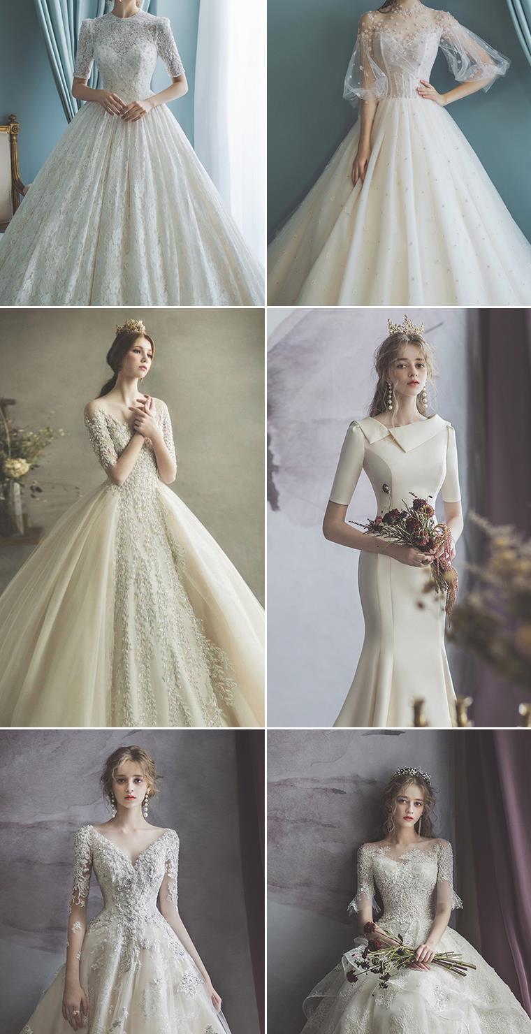 5种高询问度婚纱风格 需求引领未来潮流