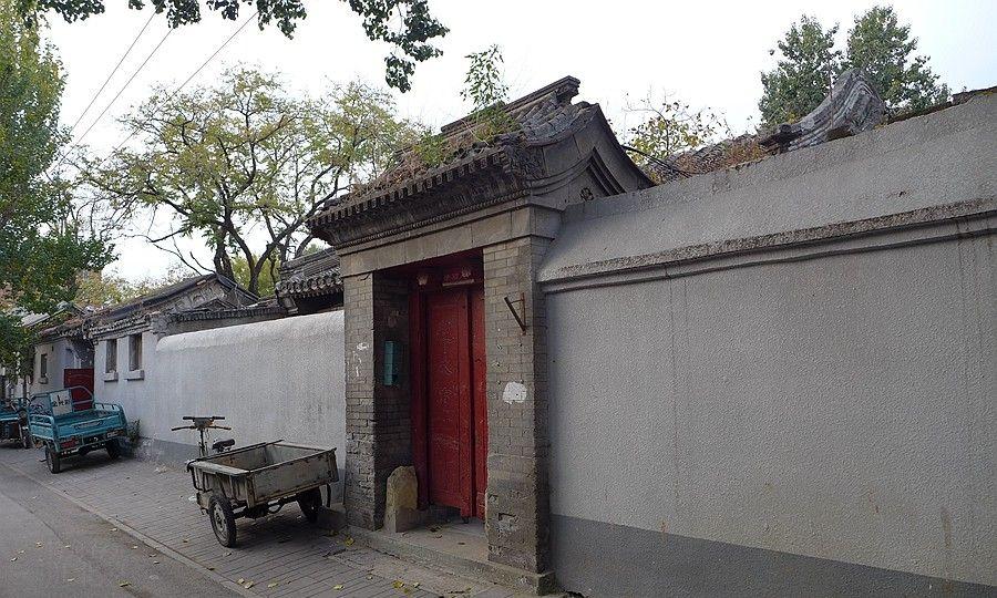 老北京胡同四合院的重要组成部分--门联